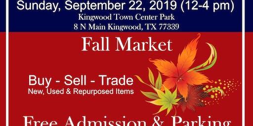 Fall Market at Kingwood Trade Days