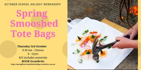 Smashed Floral Tote Bag  tickets