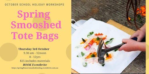 Spring Smooshed Tote Bag