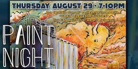 """Buffalo Sunset Paint Night """"Grain Elevators"""" tickets"""