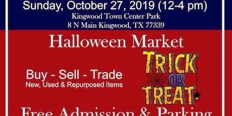 Halloween Market at Kingwood Trade Days tickets