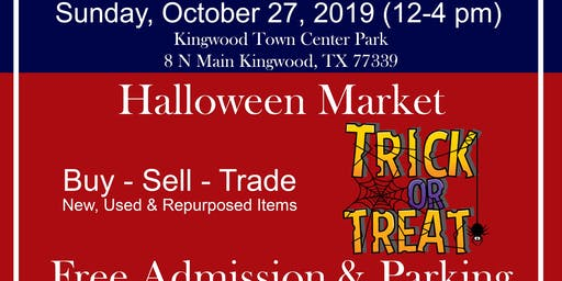 Halloween Market at Kingwood Trade Days