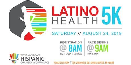 2019 Latino Health 5K Volunteers tickets