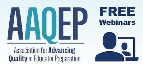 AAQEP Informational Webinar for California tickets