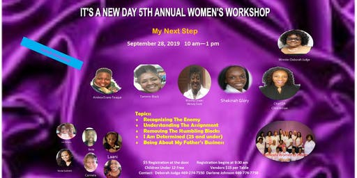 It's A New Day 5th Annual Women's Workshop