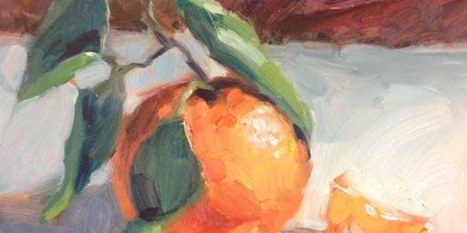 Beginning Oil Painting: Nov 6,13,20,Dec 4; 10am-12noon
