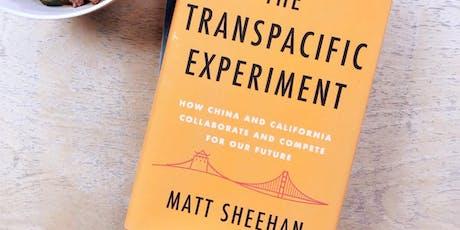 China, California and Innovation - Presentation by book author Matt Sheehan tickets