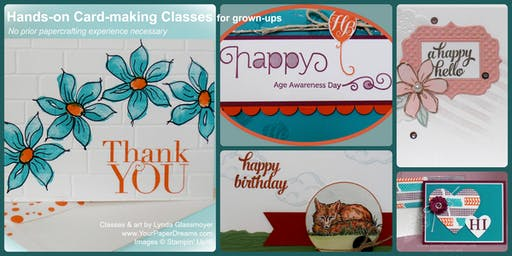 Monthly Card-Making Class - 8/27/2019 - Afternoon
