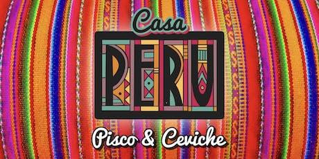 Casa Peru - Ceviche & Pisco Sydney Pop Up  tickets
