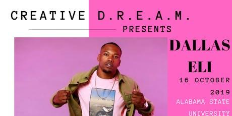 CREATIVE D.R.E.A.M. DANCE CYCLE: DALLAS ELI tickets