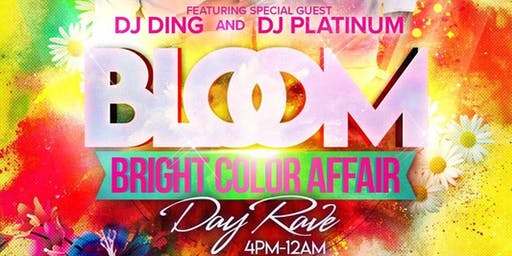 BLOOM BRIGHT COLORS DAY RAVE