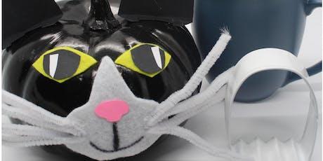 Make a Pumpkin Cat tickets