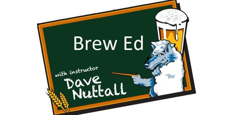 Brew Ed - Aug/Sept Session - 4 Classes tickets