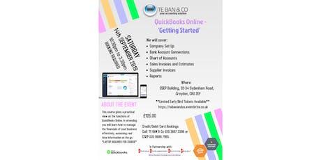 QuickBooks Online - 'Getting Started' tickets