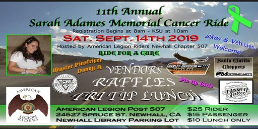 11th Annual Sarah's Ride