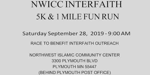NWICC'S Interfaith 5K & 1 Mile Fun Run