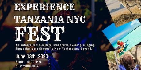 Experience Tanzania NYC Fest 2020 tickets