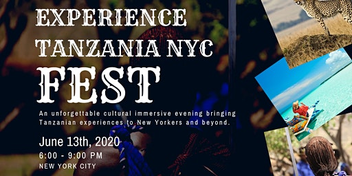 Experience Tanzania NYC Fest 2020