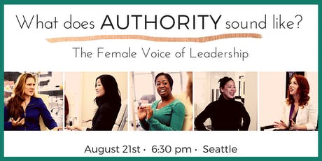 What Does Authority Sound Like?: The Female Voice of Leadership tickets
