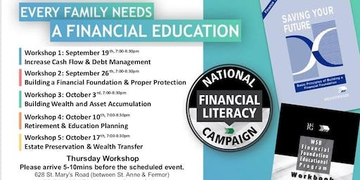Financial Education Workshop - Thursday Workshop