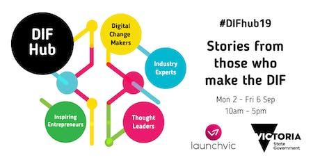 #DIFhub19 Digital Economy Day - Morning (T)ech session tickets