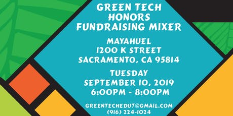Green Tech Honors tickets