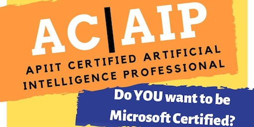 APIIT Certified Artificial Intelligence Professional