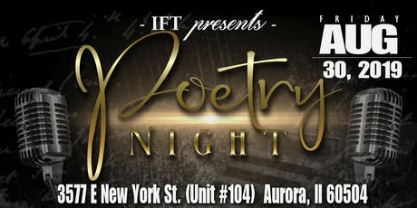 IFT Presents Poetry Night! tickets