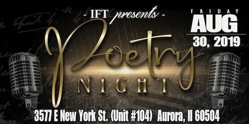 IFT Presents Poetry Night!