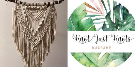 #imadeitmyself  -  A'rora macrame wall hanging with Knot Just Knots Macrame  tickets