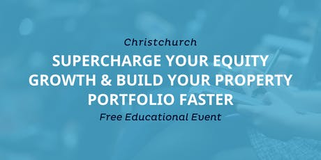 Workshop: Supercharge Your Cash Flow & Build Portfolio Equity Faster tickets