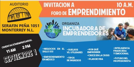 Foro de Emprendimiento tickets