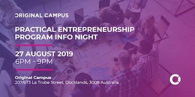 Practical Entrepreneurship Info Night