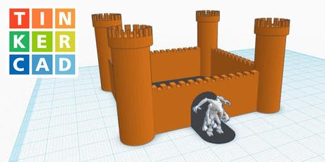 3D Modelling for Beginners: Tinkercad - Carlton Library tickets