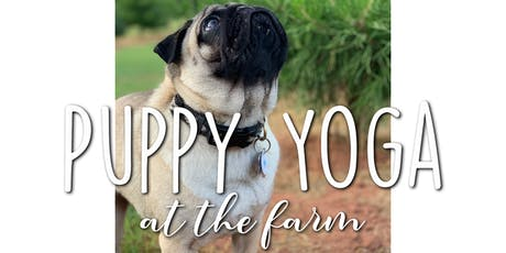 Puppy Yoga at the Farm tickets