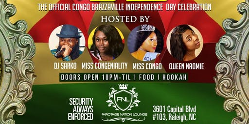 The Official Congo Brazza independence day celebration