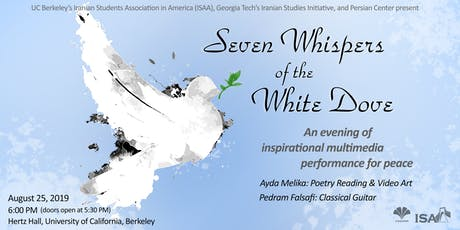 Seven Whispers of the White Dove tickets