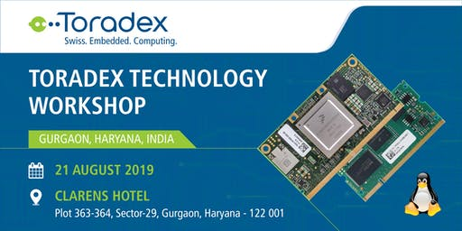 Toradex Technology Workshop 2019, Gurugram, India