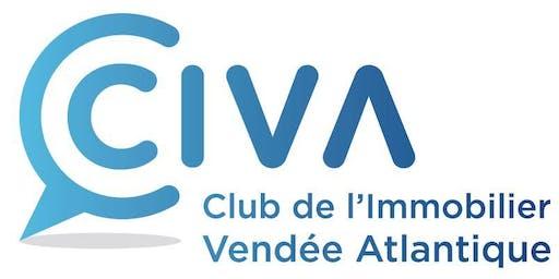 INSCRIPTION : 9 septembre 2019 - SOIREE CLUB de L'IMMOBILIER VENDEE ATLANTIQUE