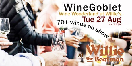 Wine Wonderland at Willies tickets