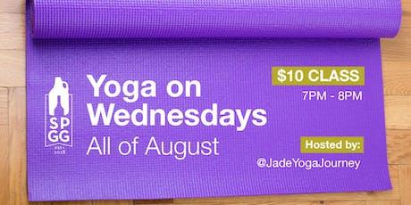 Yoga on Wednesdays tickets