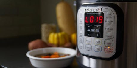 Instant Pot I: Creating Delicious Heart-Healthy Foods tickets