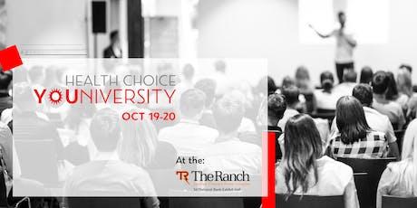 Health Choice YOUniversity tickets
