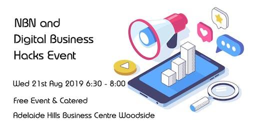 NBN and Digital Business Hacks Event