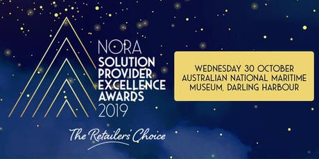 NORA Solution Partner Excellence Awards 2019 tickets
