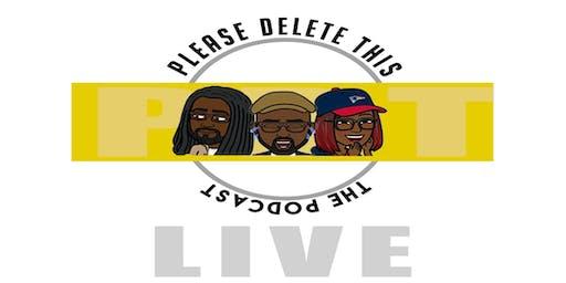 PleaseDeleteThis: Live!!