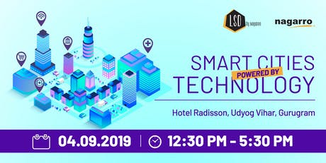 Smart cities: Powered by Technology tickets