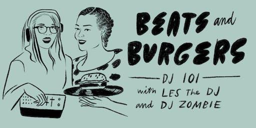 Beats & Burgers: DJ 101 with Les The DJ and DJ Zombie at Slash Run