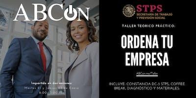 Taller: Ordena tu empresa