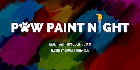Paw Paint Night!  tickets